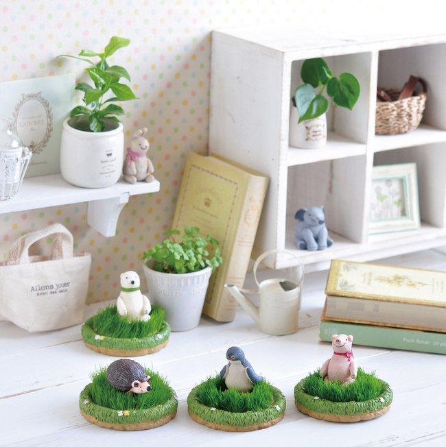 聖新陶芸植栽,擁有企鵝、小象、刺蝟、北極熊等造型,售價590元。圖/台隆手創館提