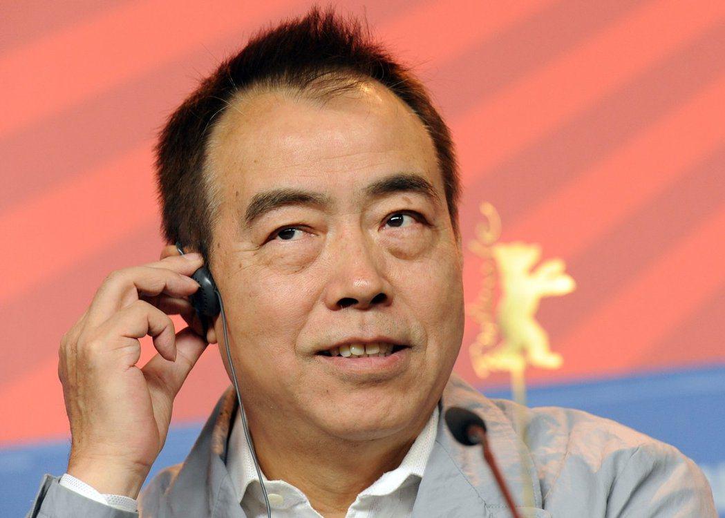 知名導演陳凱歌。圖/歐新社