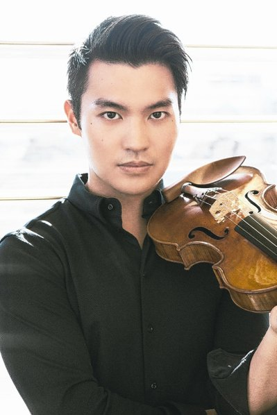 小提琴家陳銳。 圖/兩廳院提供