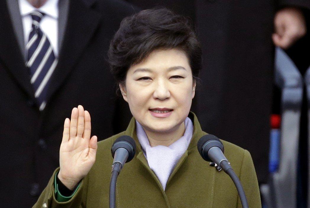 遭彈劾下台的前總統朴槿惠。圖/美聯社