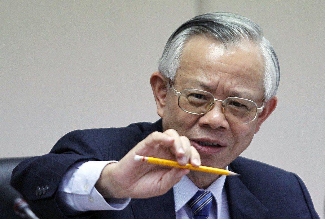 央行23日將召開第一季理監事會議,圖為總裁彭淮南。  (路透資料照片)