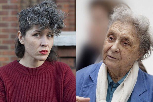 萊蒂西婭.郝斯曼(Laetitia Badaut Haussmann)(左)及卡...