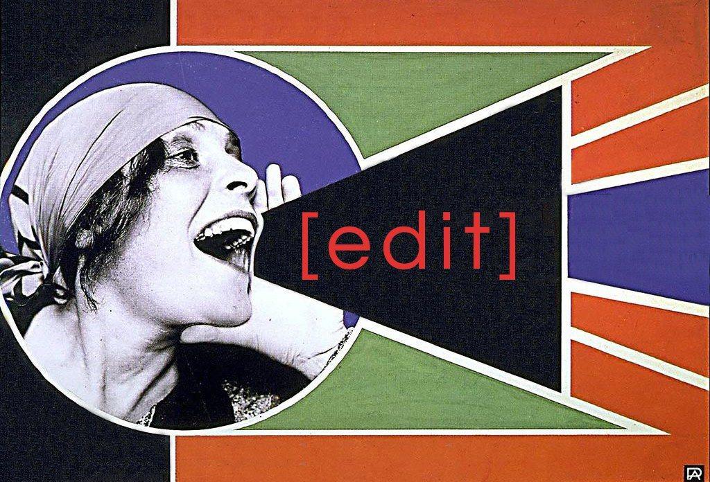 Art+Feminism宣傳海報。圖/取自moma。