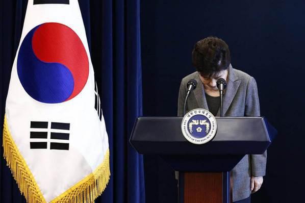 韓媒:朴槿惠執政不及格 經濟政策失敗