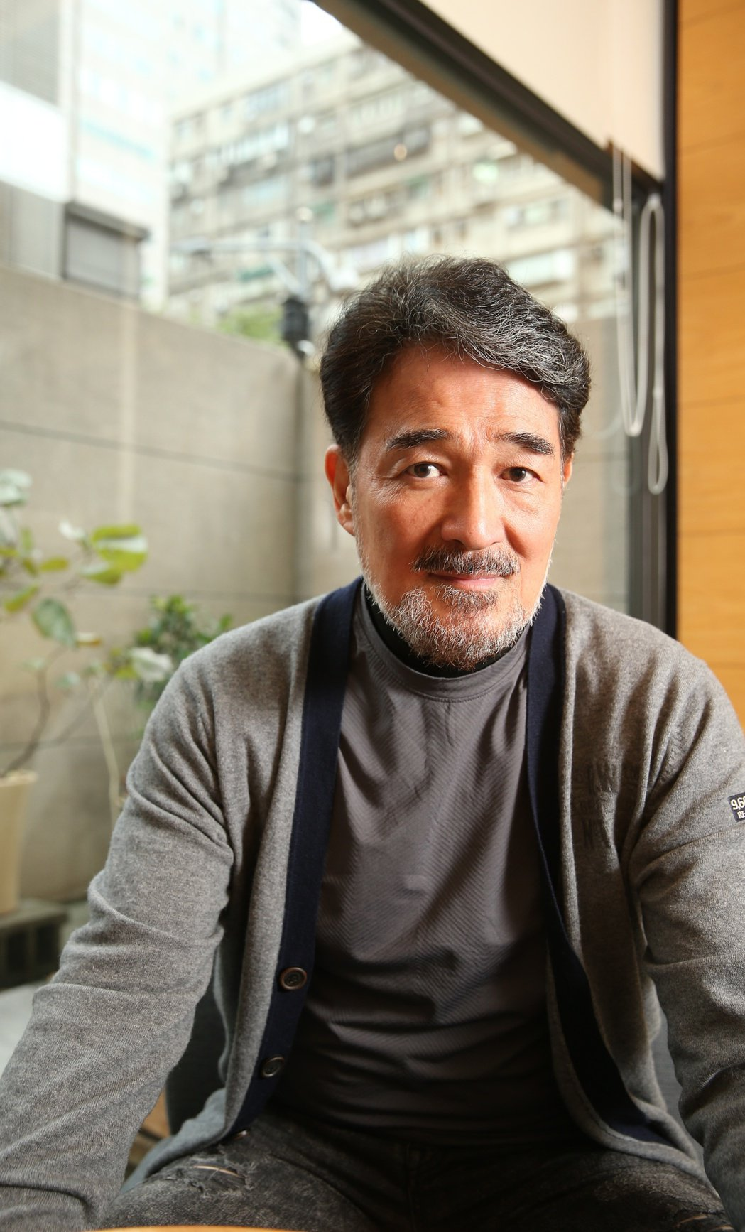 67歲的雲中岳,保養得宜。記者陳立凱/攝影