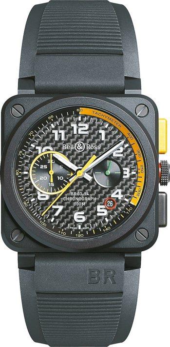 Bell & Ross全新BR03 RS17計時腕表日前在倫敦曝光,價格電洽。 ...