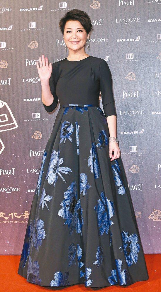 金燕玲去年曾獲金馬獎最佳女配角。 本報資料照片