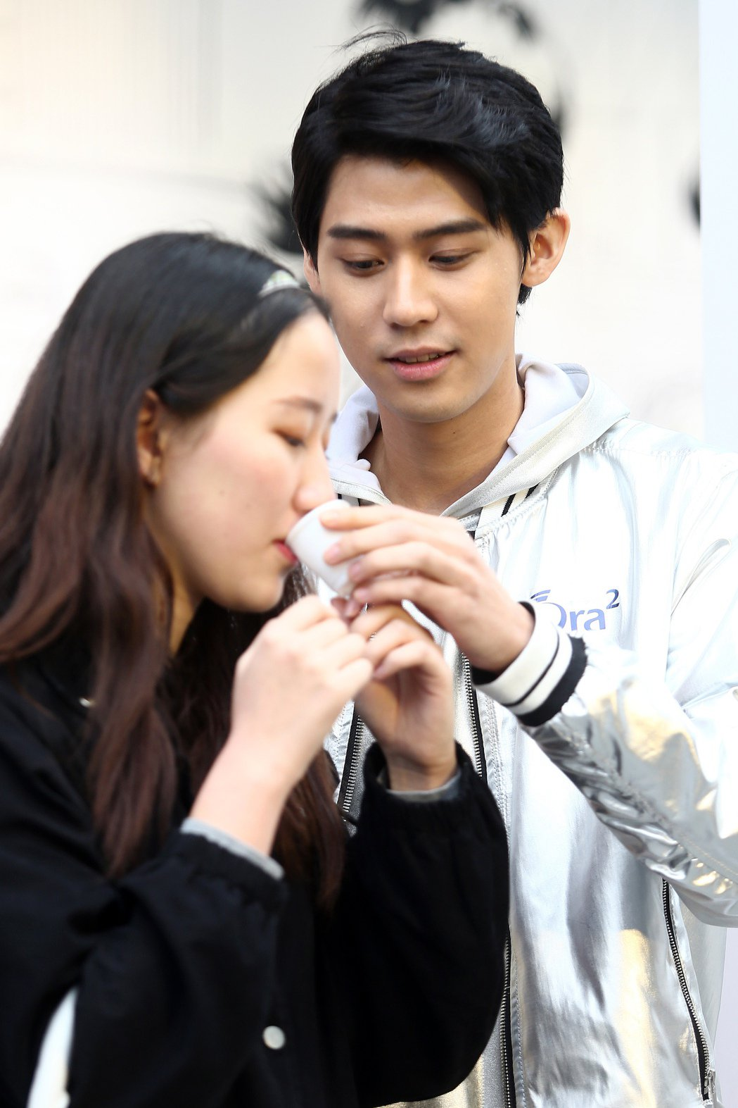 李玉璽出席日系口腔品牌活動,表示自己很在意女生牙齒整潔度與呼出來的氣味好不好,尤...