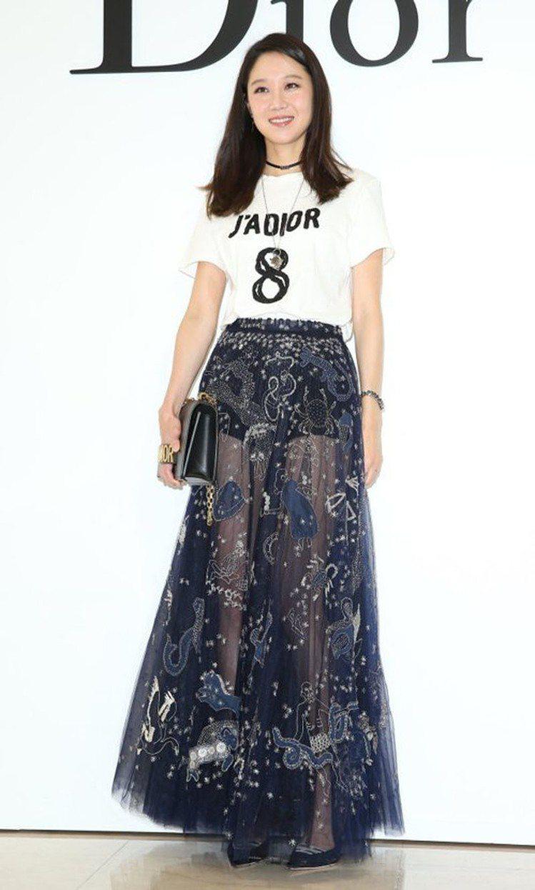孔曉振來台參加Dior微風廣場開幕盛會。圖/記者林澔一攝影