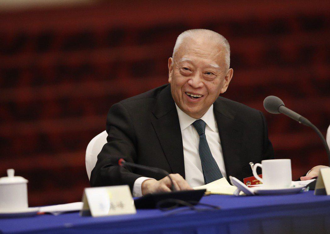 香港前行政長官(特首)董建華。 中新社