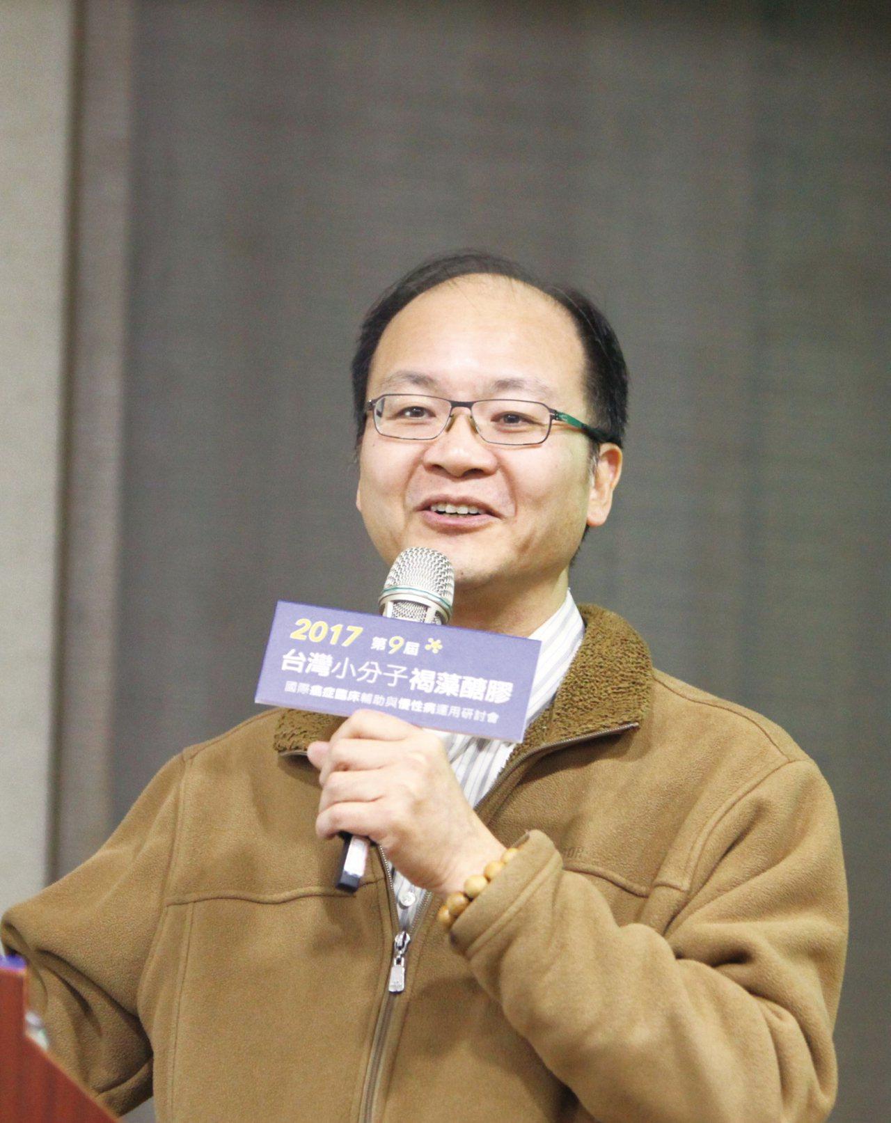 廣欣中醫診所醫療長林建雄。 台灣褐藻醣膠發展學會/提供