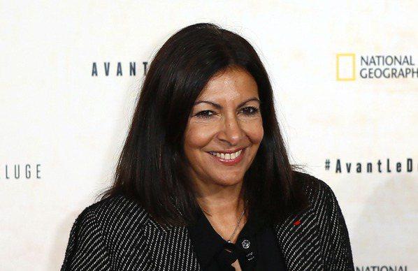 巴黎市長安妮‧伊達戈。 美聯社