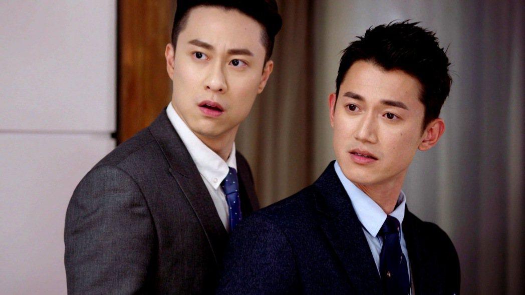 吳慷仁(右)、劉書宏演出「極品絕配」。圖/三立提供