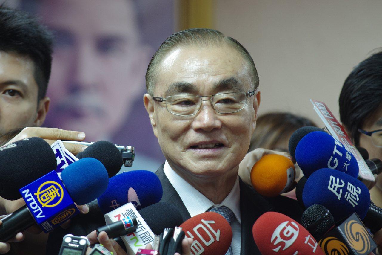 國防部長馮世寬。 圖/聯合報系資料照片