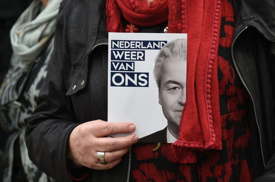 懷爾德斯的指控聽起來極端,卻也血淋淋地反應當前荷蘭社會的焦慮感。 圖/法新社