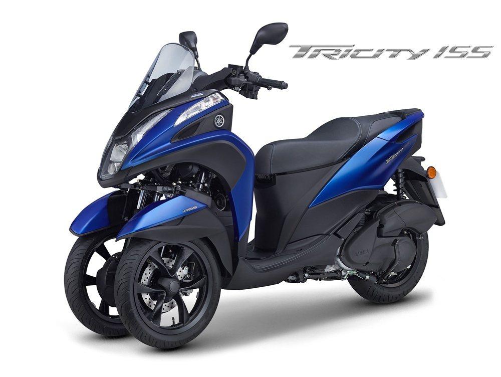 Tricity 155三輪機車售價為186,000元。 YAMAHA提供