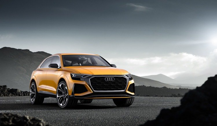 The all new Audi Q8 Sport Concept再次向全球展現AUDI AG領先車壇的智慧科技與精湛的造車工藝。 圖/台灣奧迪提供