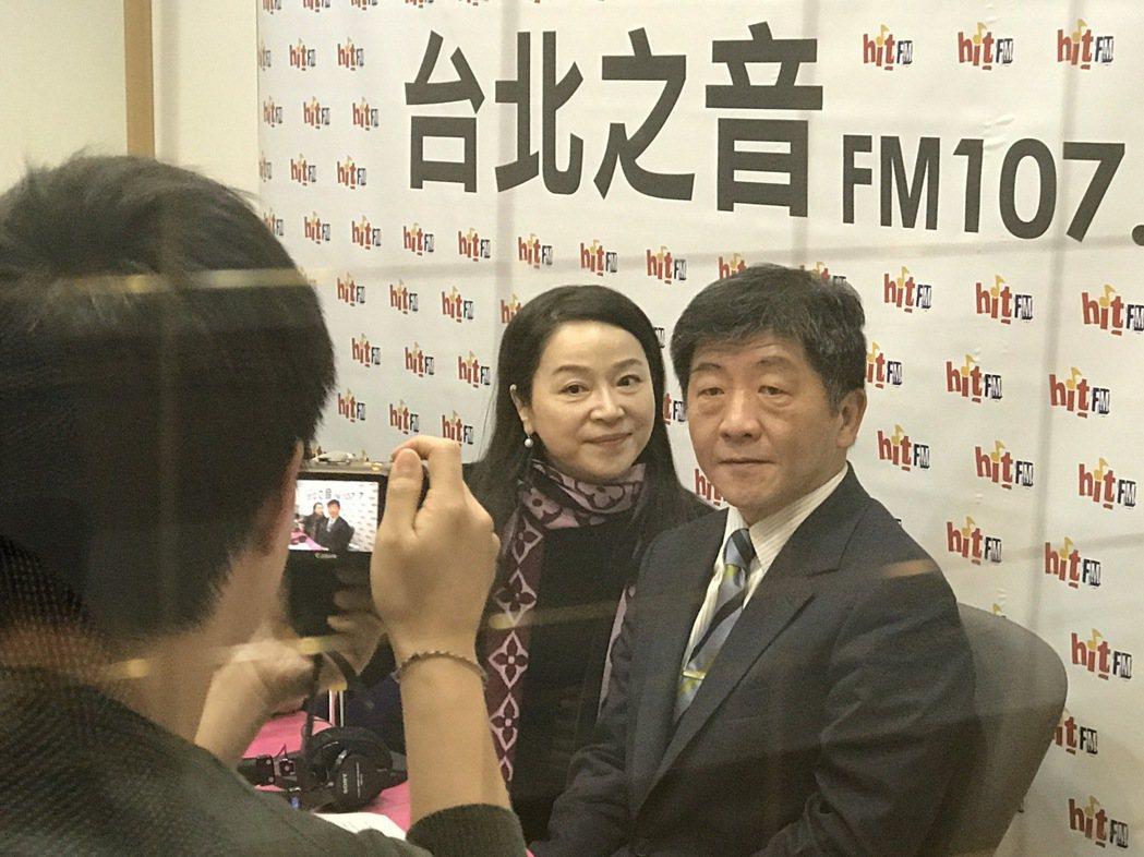 陳時中接受電台專訪,認為擋得住、擋不住日本核災食品,這不是衛福部可以決定的事。記...