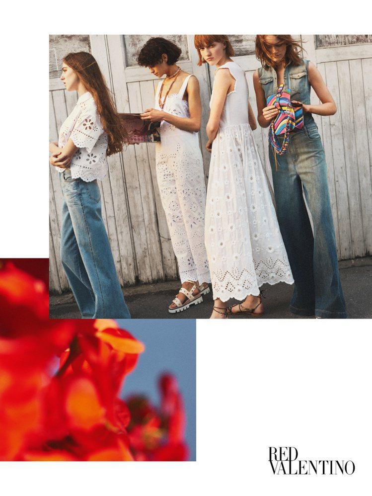 REDValentino 2017春夏廣告。圖/REDValentino提供