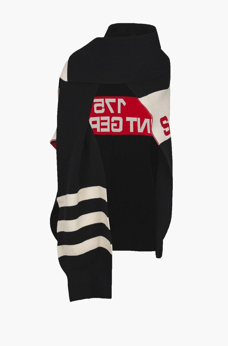 Rykiel For Ever標語針織斗篷共主打款,售價18,300元。圖/CL...