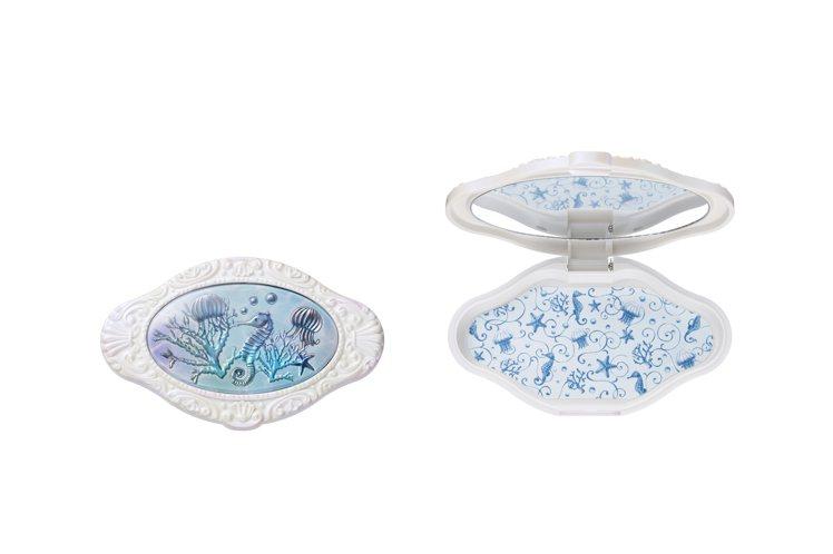 限量霓海映夏海洋精靈巧妝盤,750元。圖/Anna Sui提供
