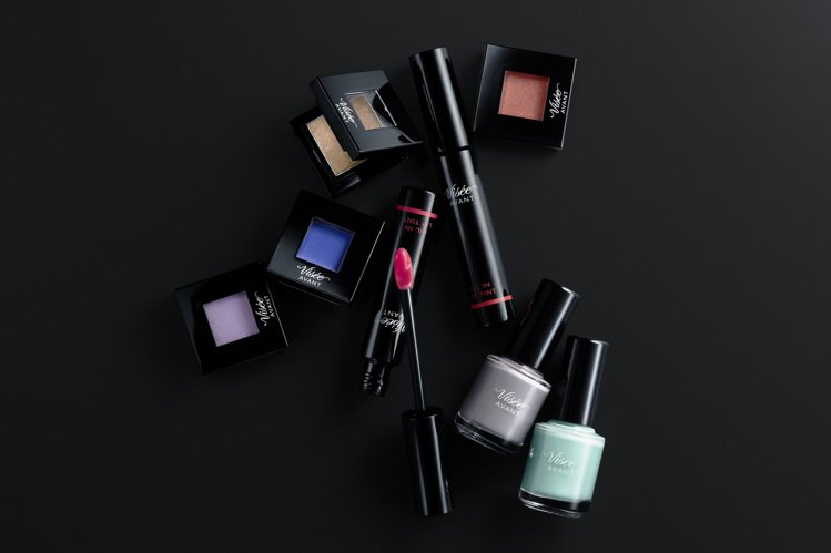 Visee AVANT彩妝全系列45款新品將於4月1日正式登台開賣。圖/Vise...
