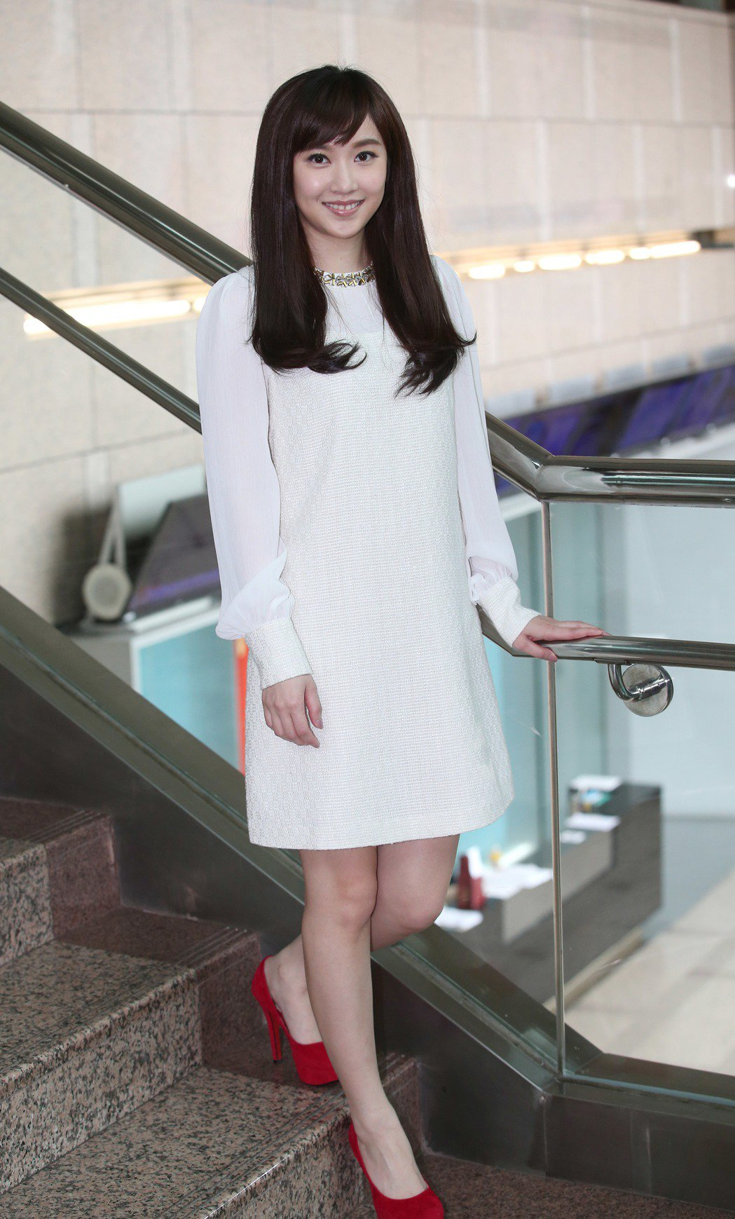 中視主播李佳玲獲選「新一代主播女神」冠軍。記者陳瑞源/攝影
