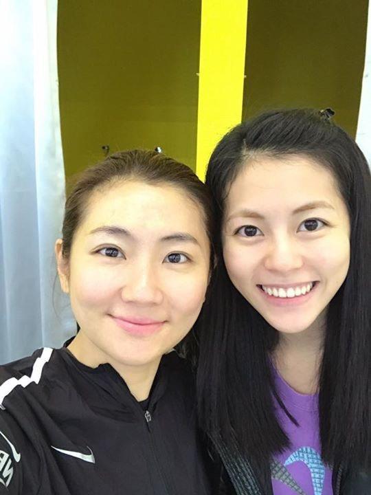 Selina和妹妹任容萱感情彌堅。圖/摘自臉書