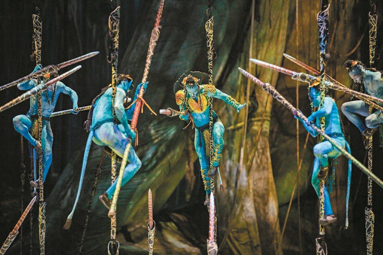 今年七月,卡麥隆與表演藝術界泰斗太陽馬戲首度合作的《阿凡達前傳》將登上台北小巨蛋...