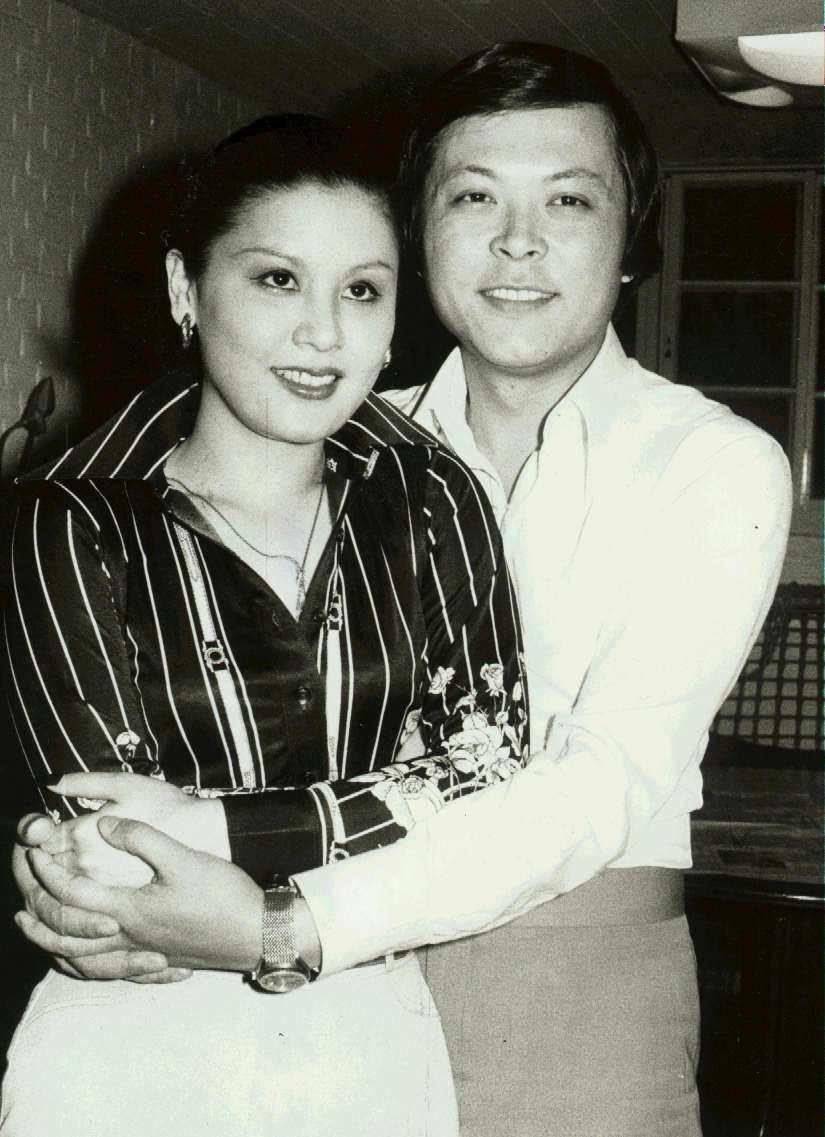陳麗麗曾與香港電影工作者陳浩結為夫妻。圖/本報資料照