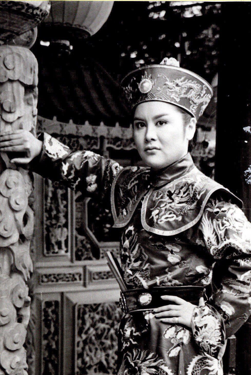 陳麗麗1980年反串飾演「江南遊」中的小王爺一角成名,得到「小王爺」的暱稱。 圖...