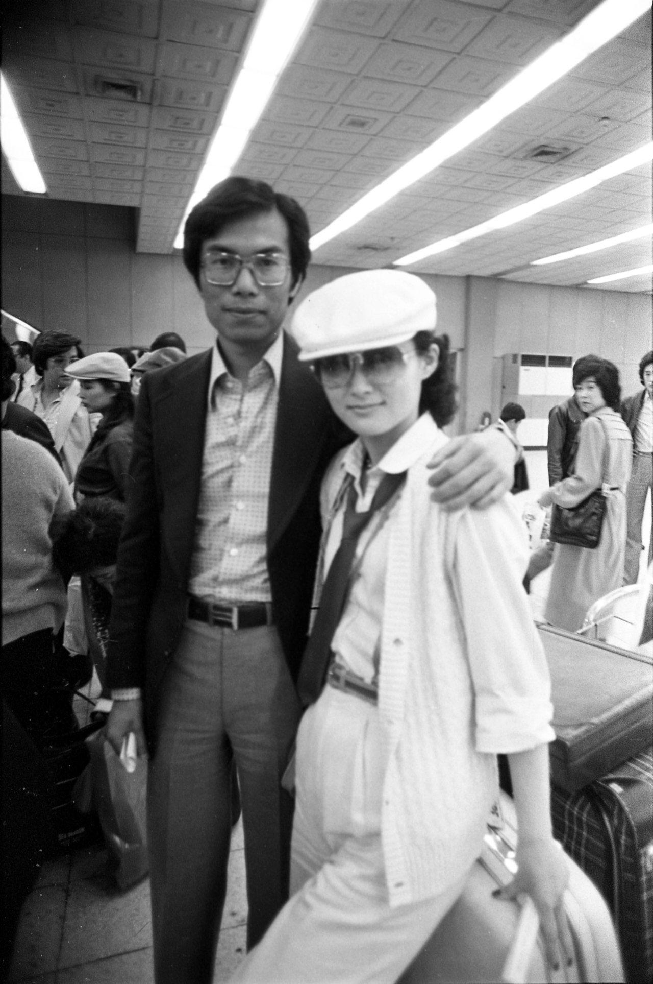 潘迎紫曾嫁給陳浩的哥哥陳鴻烈,讓陳麗麗及潘迎紫一度結為妯娌。圖/本報資料照