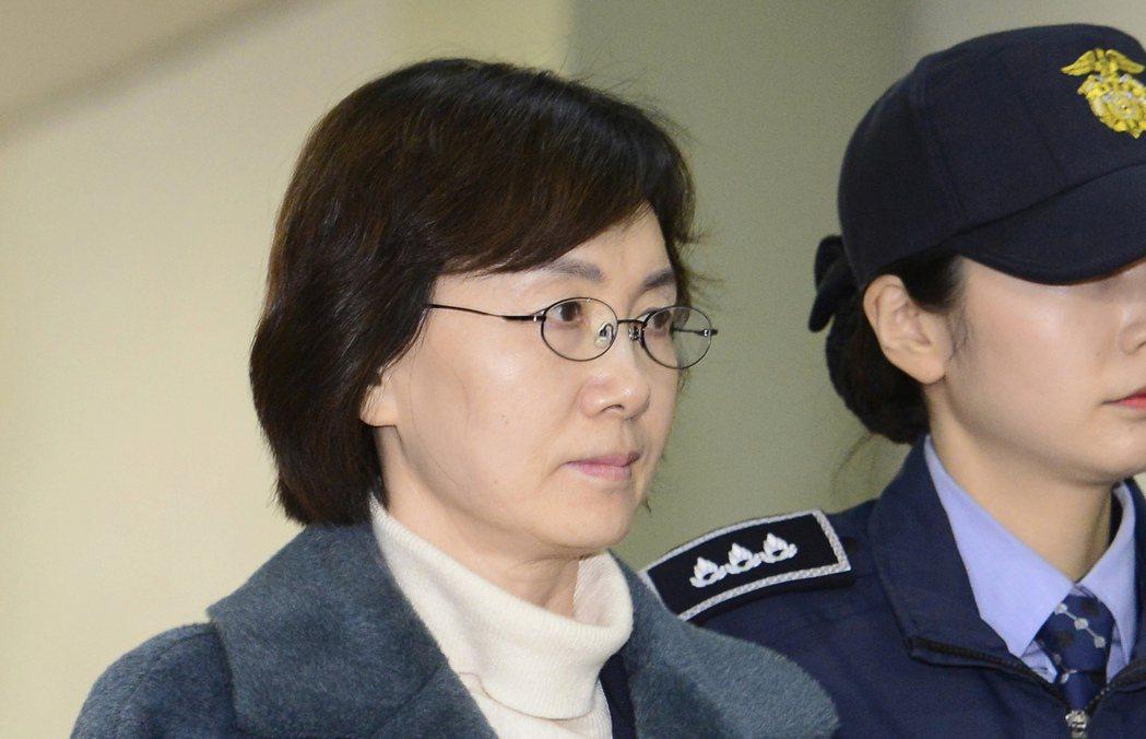 梨花女子大學前校長崔京姬二月接受獨檢組約談。 美聯社