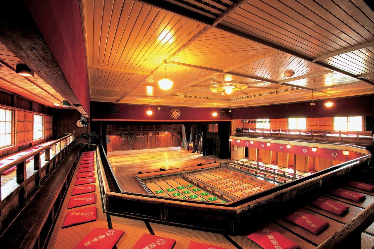 康樂館是日本最古老的木製劇場。