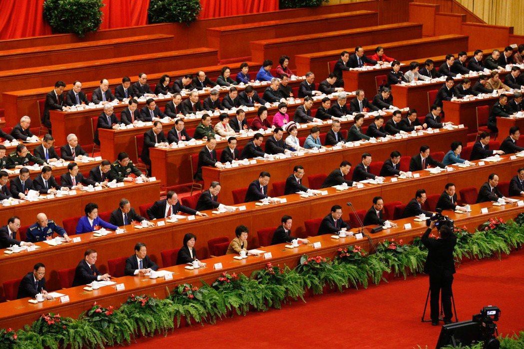 第十二屆全國人民代表大會第五次會議在北京人民大會堂閉幕。圖片/中新社