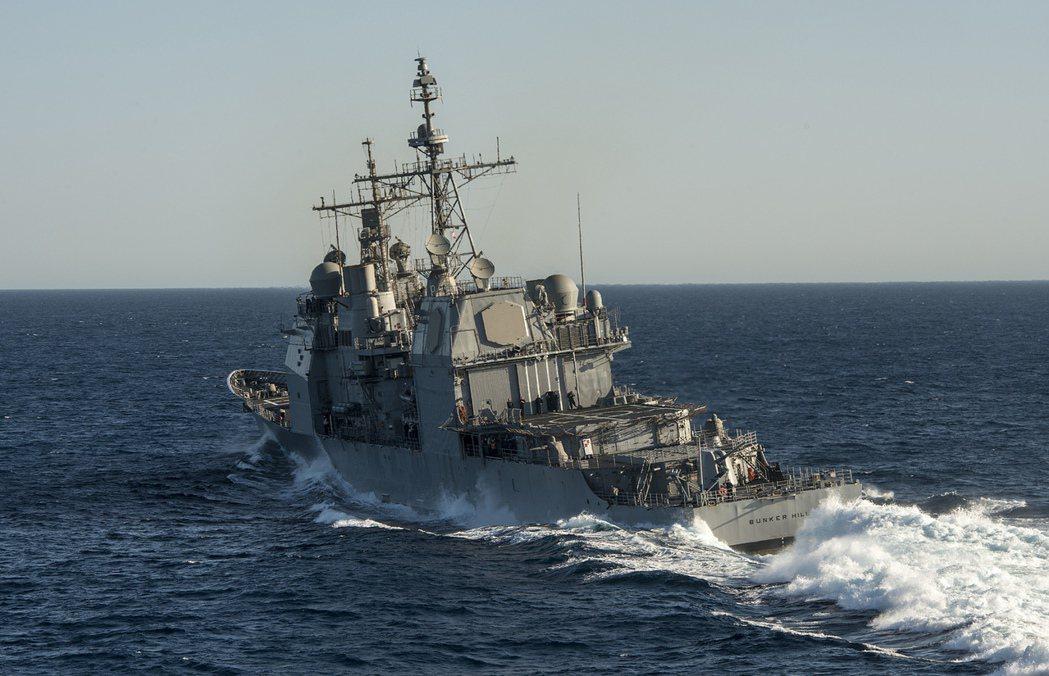 制海不是要也無須控制所有海洋,只在需要的時候才在任務執行地區建立控制。圖為提康德...