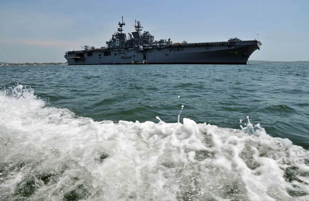 重返制海:擴軍後,步入海軍競爭的美國