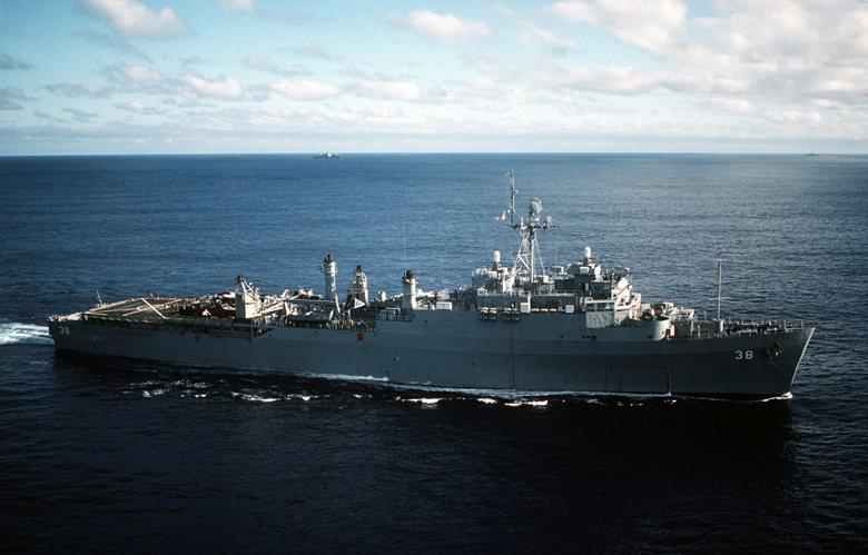 圖為中華民國海軍唯一一艘安克拉治級船塢登陸艦,旭海號。 圖/維基共享