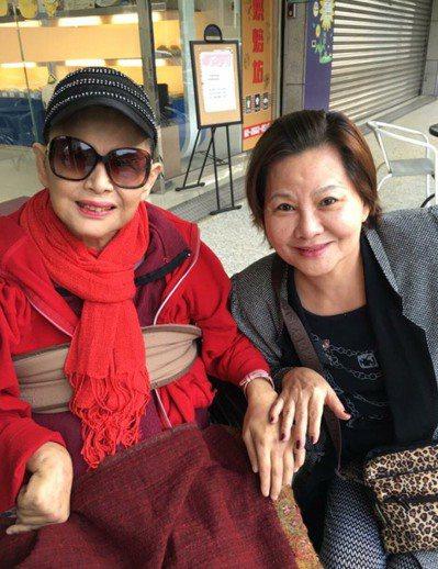 小王爺陳麗麗(左)驚傳病逝。圖/翻攝自臉書