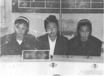 李冰冰(右)曾當過小學老師。圖/摘自阿波羅新聞網