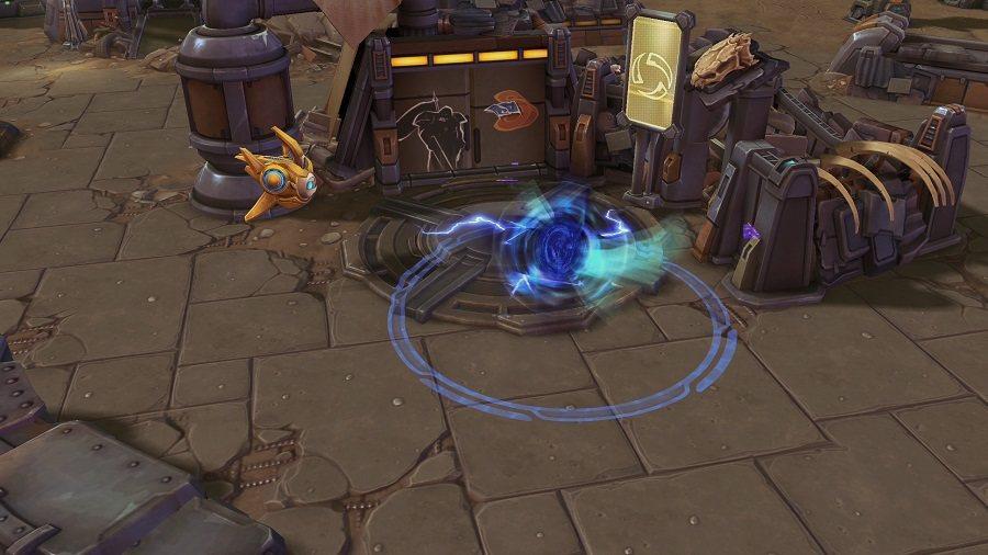 「空間裂隙」將使該區域處於不穩定狀態,並使經過的敵方緩速。