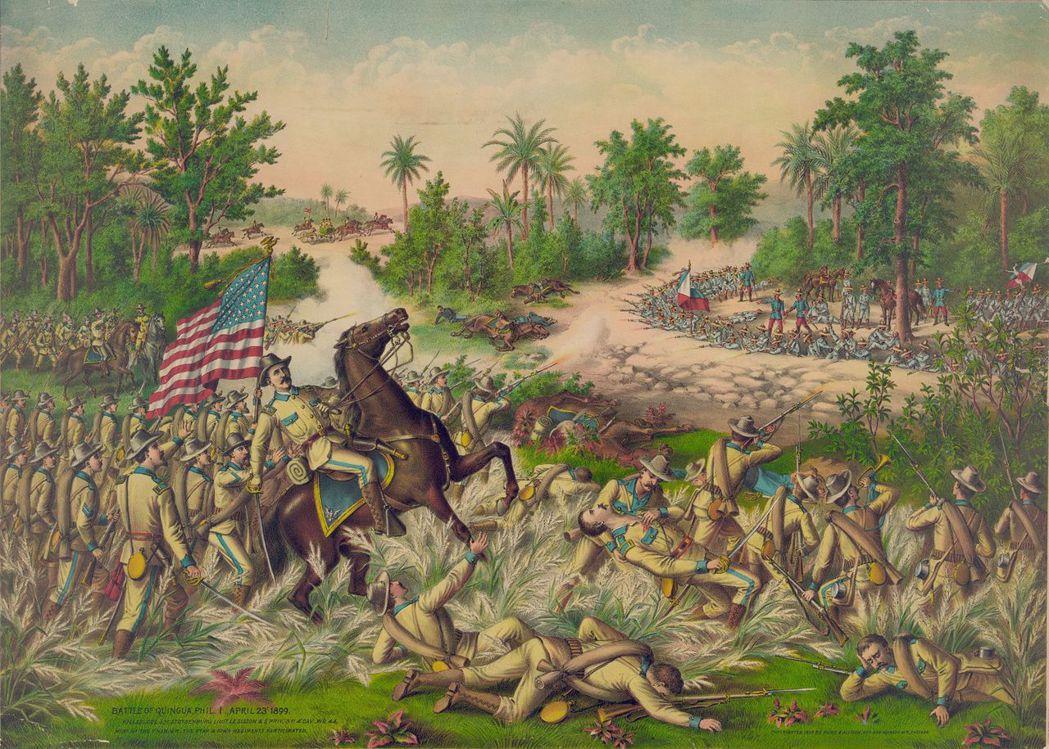在西班牙軍隊離開菲律賓群島後,美軍突然倒戈相向,對菲律賓展開殘酷的打擊與血腥的背...