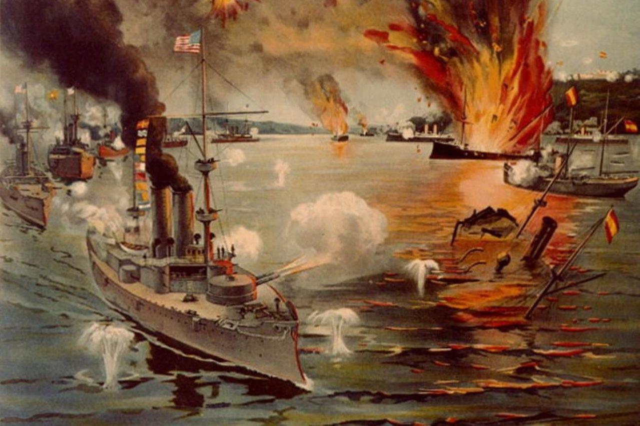 美國正式對西宣戰後,艦隊立刻駛向馬尼拉灣,並以迅雷不及掩耳的速度擊潰西班牙海軍。...