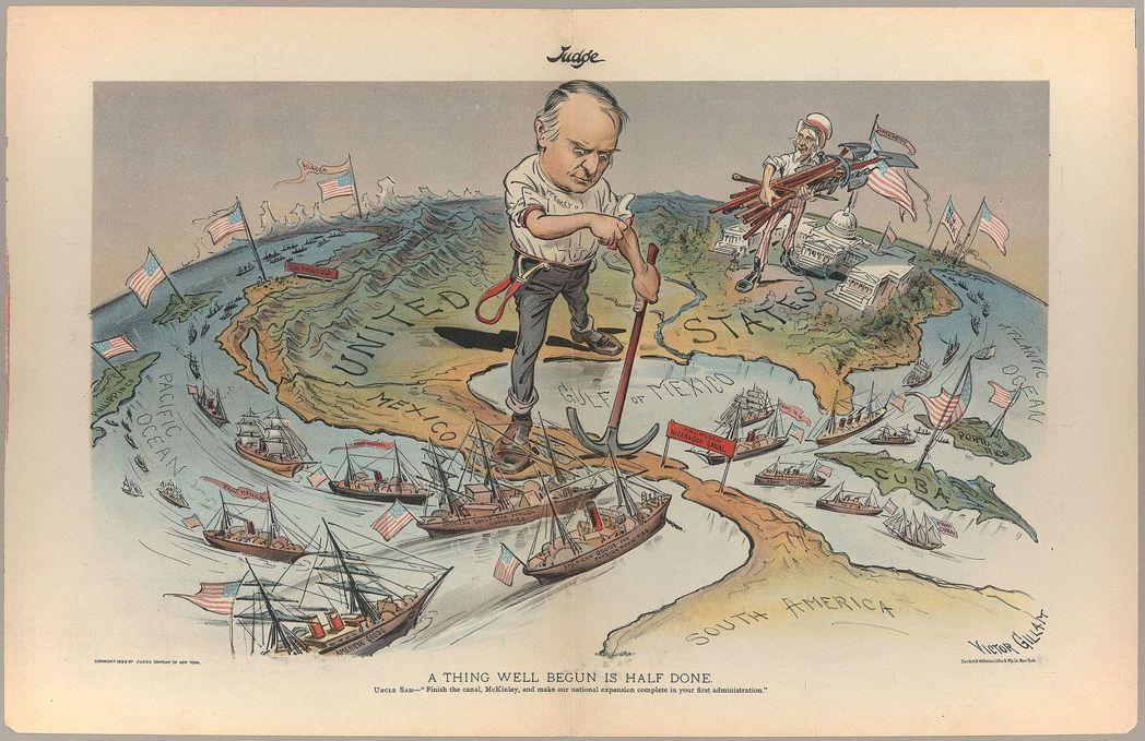 「美國人究竟是朋友還是敵人?」在這幅1899年名為「A Thing Well B...