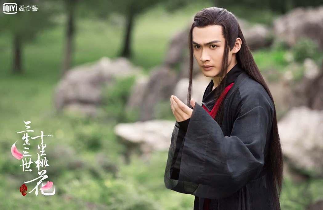 張彬彬在「三生三世十里桃花」中飾演「翼王離鏡」。圖/愛奇藝台灣站提供