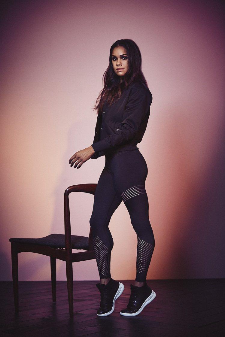 非裔芭蕾舞蹈家Misty Copeland代言UA廣告,並推出聯名運動服飾。圖/...
