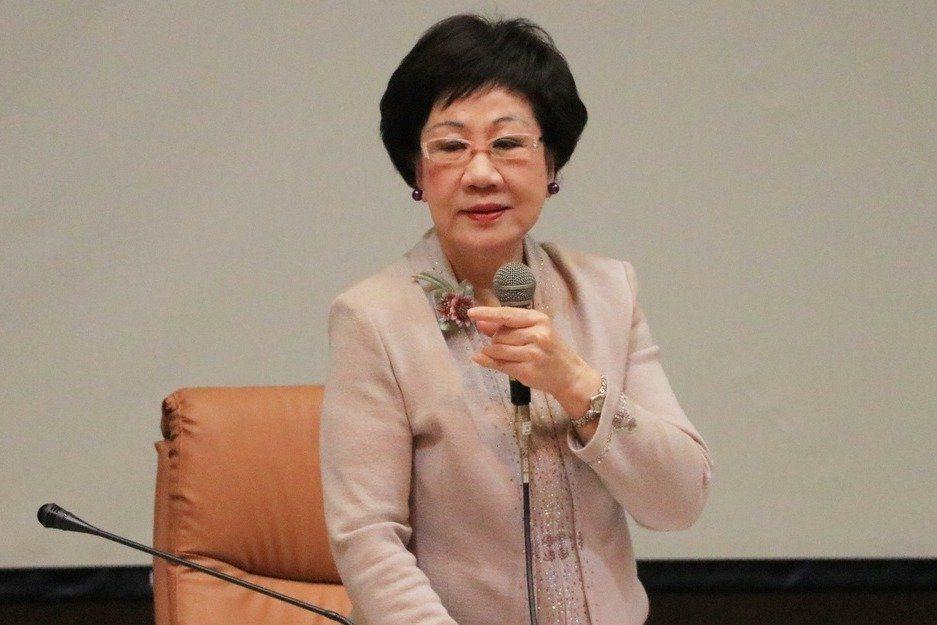 前副總統呂秀蓮今天出席活動受訪時表示,對被疑為共諜的前隨扈王鴻儒沒印象。記者曹馥...