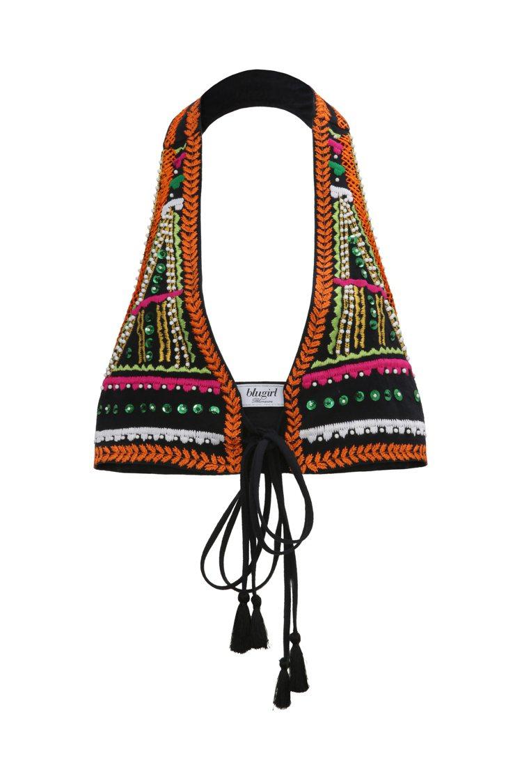 珠繡背心,29,500元。圖/Blugirl提供