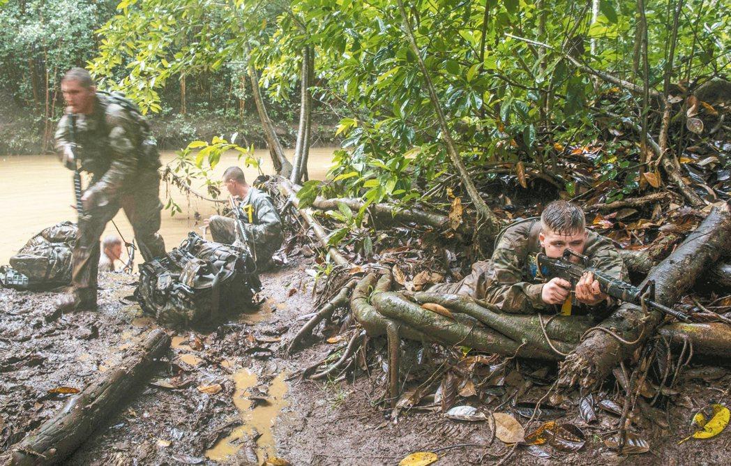 亞洲再平衡戰略 美軍訓練叢林戰