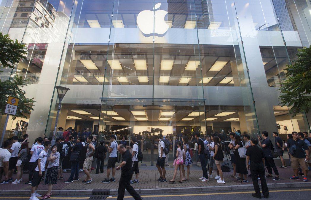 台灣手機市場對iPhone8期待度高。圖/歐新社